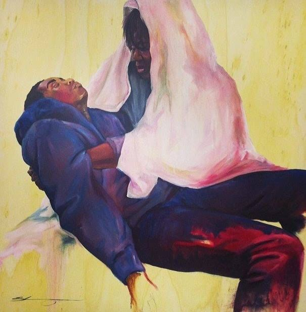 Paintings About People S Ignorance And Violence
