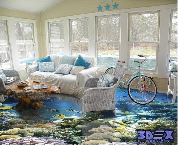 The 25+ Best 3d Floor Art Ideas On Pinterest | 3d Flooring, Floor Wallpaper  And Floor Murals