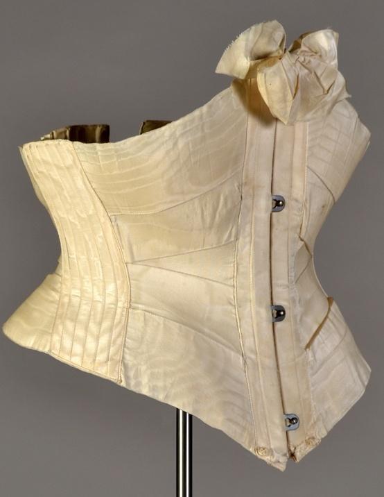 Ribbon corset, ca. 1900 KSUM 2011.12.12 © Kent State University Museum