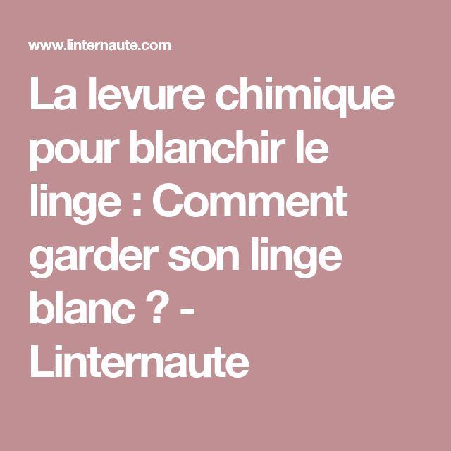 Nice Comment Blanchir Du Linge #11: La Levure Chimique Pour Blanchir Le Linge : Comment Garder Son Linge Blanc  ? - Linternaute