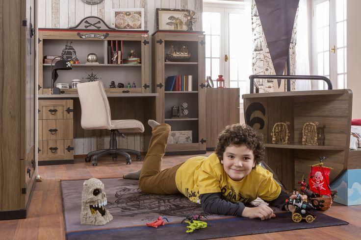 #Newjoy Captain Çocuk Odası www.newjoy.com.tr... #kaptan #gemi #captain #oda #çocuk #mobilya #tasarım #yeninesil #çocukodası #tasarım #oda #room #kidroom