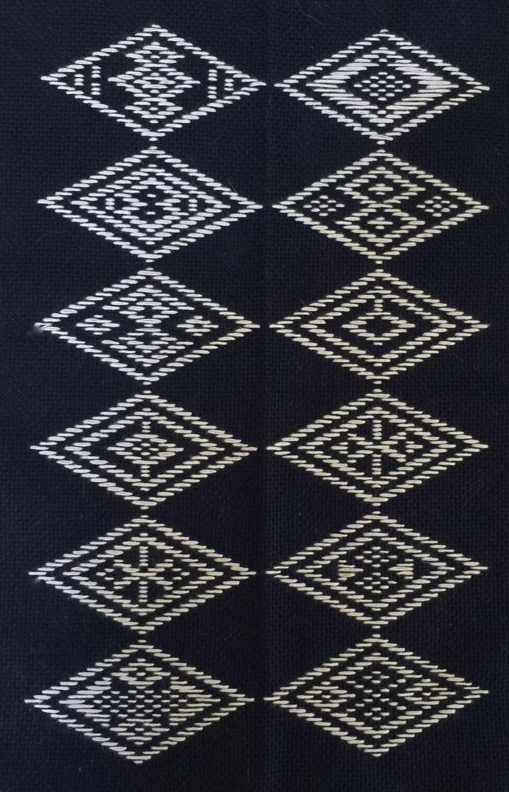 Kogin patterns from Caro-Rose-Creations