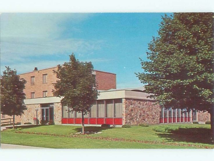 Unused Pre-1980 UNION DORM AT NORTHWESTERN COLLEGE Orange City Iowa IA Q2959