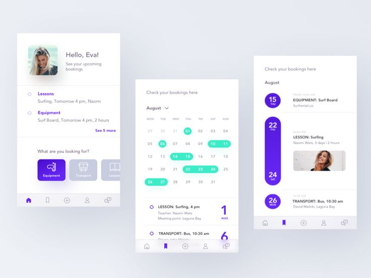 Hi guys!  Last time I have uploaded onboarding walkthrough screens of the app I am working on. Today I present to you the first screens of this app.   Have a great day I hope that you have enjoyed ...