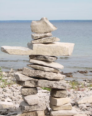 inukshuk...we will build one.