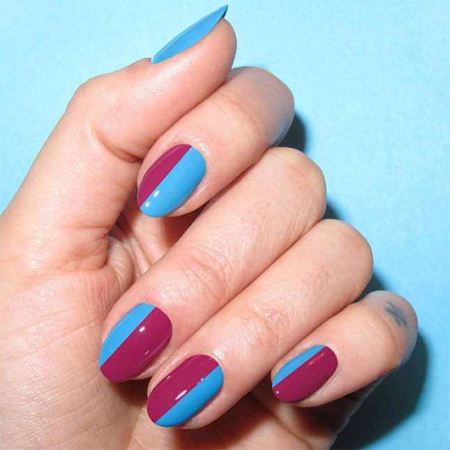 Blue Nail Polish Combinations: 17 Best Ideas About Nail Color Combos On Pinterest