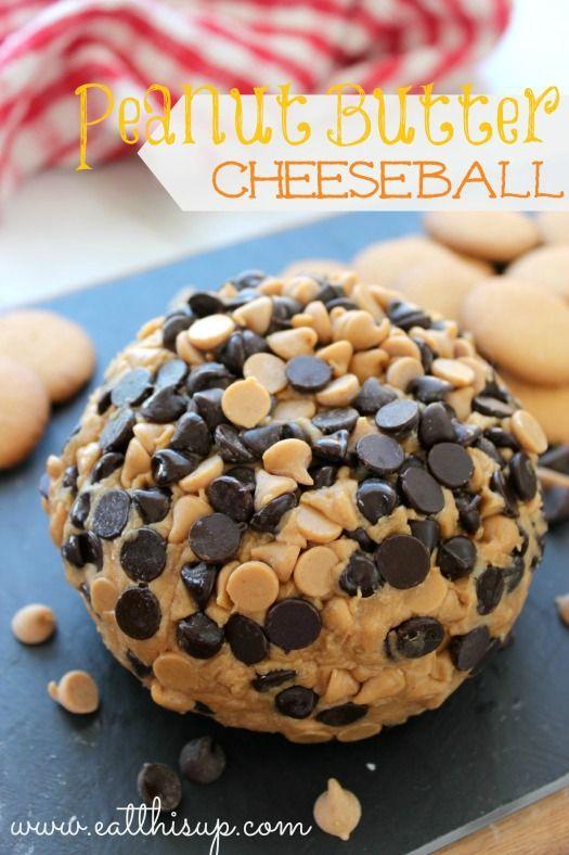 Peanut butter cheeseball