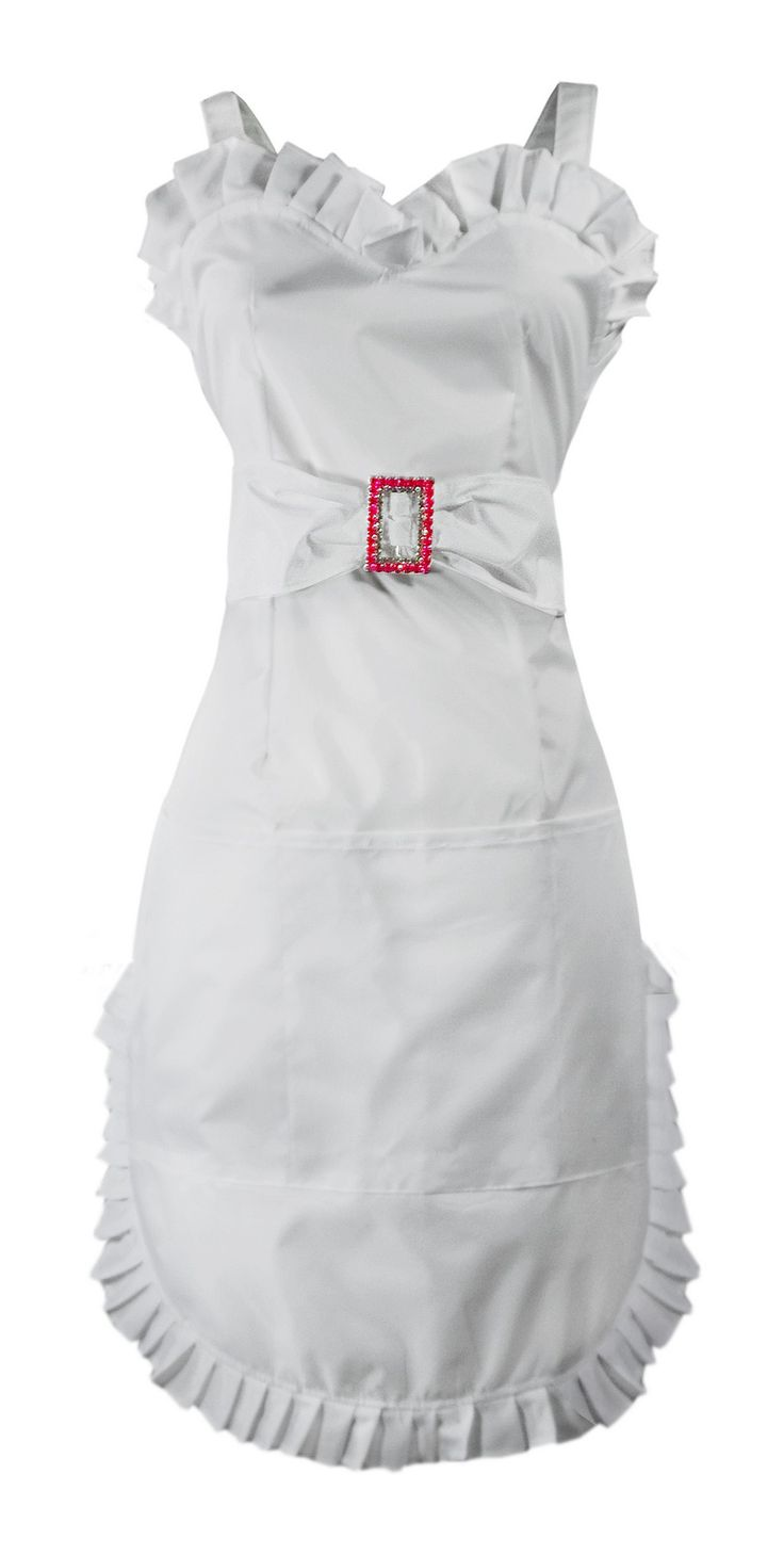fancy apron! free printable pattern-not in white for me, but love the design!