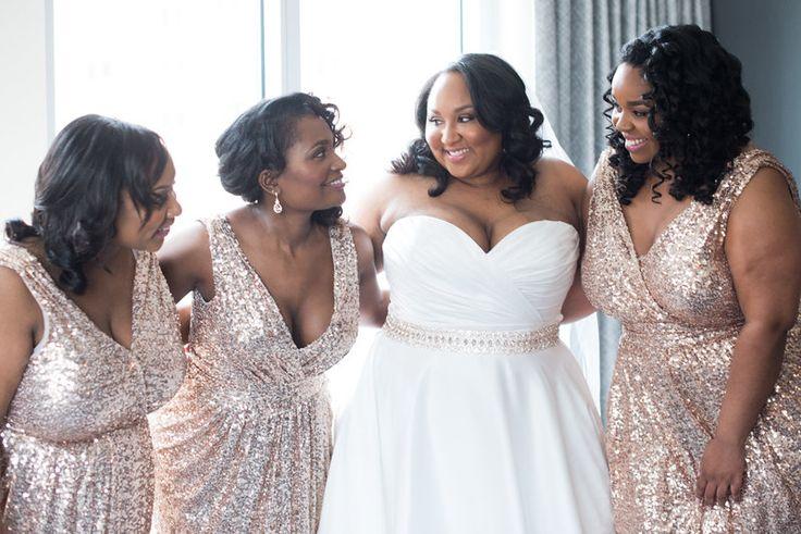 Real Weddings {Virginia}: Lindsay & Donovan! - Blackbride.com