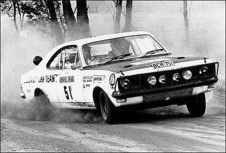 Barry Ferguson & Dave Boddy HDT Monaro Ampol Trial 1970 ?