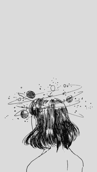 Pensar en ti es como pensar en constelaciones es infinito ♡