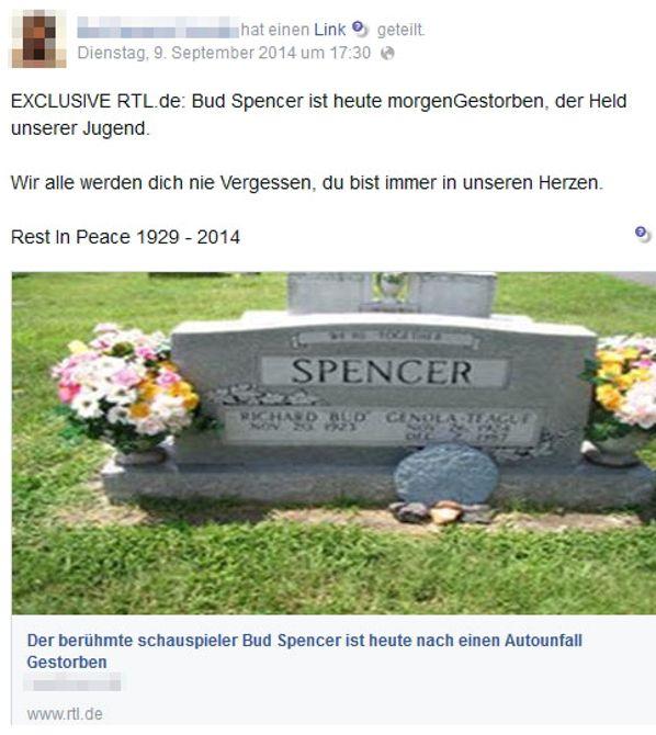 Bud Spencer ist tot? Quatsch!