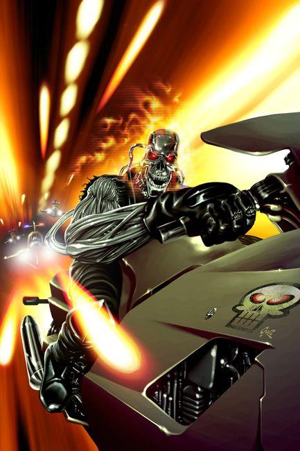 Ghost Rider 2099 by Fernando Goni