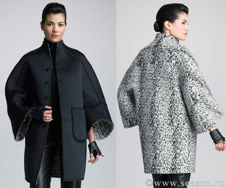 Клуб любителей шитья Сезон - сайт, где Вы можете узнать все о шитье - Выкройка пальто с цельнокроеным рукавом