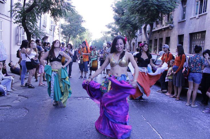 Carnaval de la Challa. Barrio Yungay. Enero 2015
