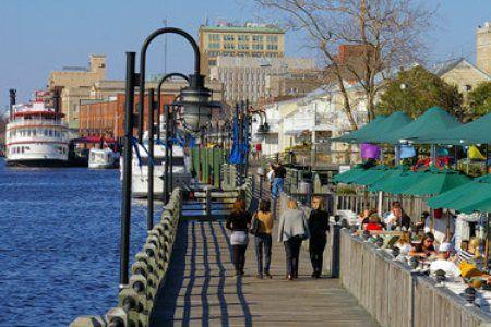 River Walk, Wilmington, North Carolina