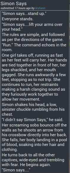 Simon Says creepypasta