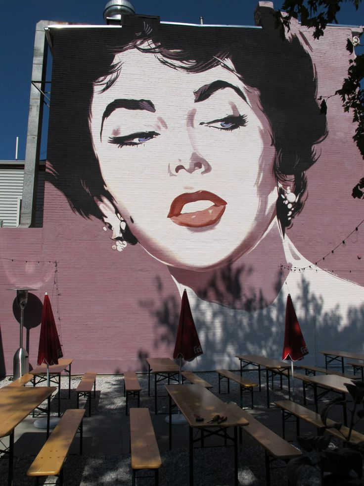 Have a free drink with liz taylor tonight at dacha for Duke ellington mural