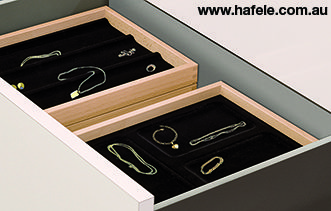 Multi Function Inserts: stack-able jewellery inserts.