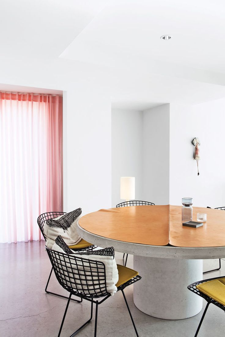 Harry bertoia for knoll inc bird chair catawiki - Modern Dining Room Area With Steel Chairs By Harry Bertoia For Knoll