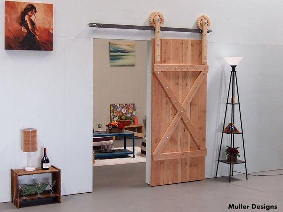 barn door hardware kit by muller designs