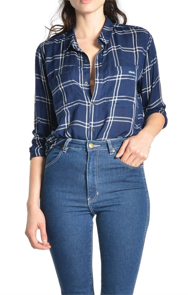 College Check Shirt by ROLLAS