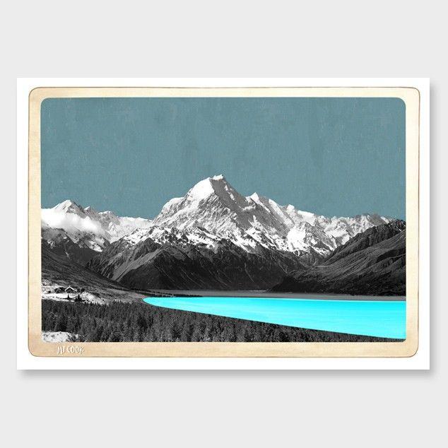 Mt Cook Art Print by Marika Jones - All Art Prints NZ Art Prints, Art Framing…
