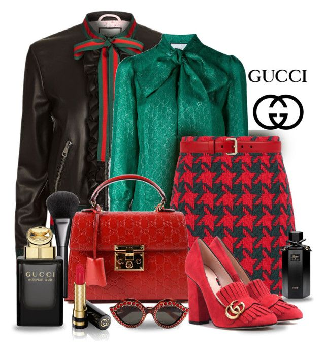Only  Gucci by gianna-pellegrini on Polyvore featuring polyvore, fashion, style, Gucci, clothing and gucci