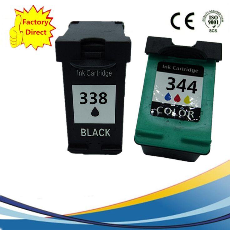 Ink Cartridge For HP 338 344 XL HP338 HP344 Officejet 100 - L411a L411b 150 - L511a H470 H470b H470wbt H470wf K7100 K7103 K7108 #Affiliate