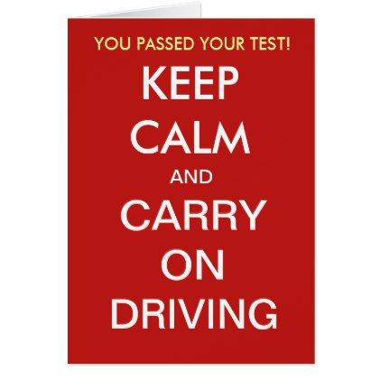 Funny Driving Test Pass Slogan Quote Add Caption Card - funny quotes fun personalize unique quote