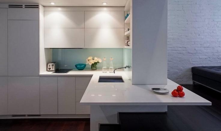 Aparatele electrocasnice sunt mascate și incorporate în mobilierul de bucătărie