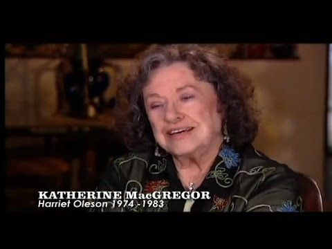 Interview from Little House on the Prairie collection. Part 2 - http://melissasueandersonfan.com/Katherine%20MacGregor.html