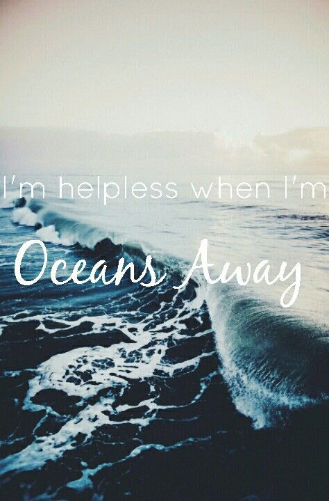 Oceans Away by ARIZONA // my favorite song right now