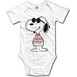Peanuts Snoopy Cool Baby Onesie Outfits