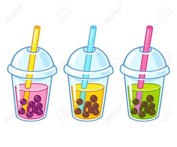 Pin By Marmeladka On Gacha Odezhda Cartoon Bubbles Tea Cup Drawing Cute Food Drawings