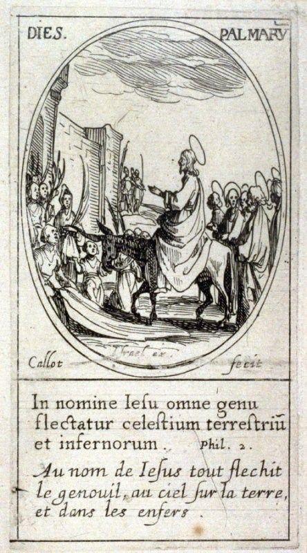 La Domenica delle Palme in una stampa francese del XVII secolo - Fondazione Terra D'Otranto