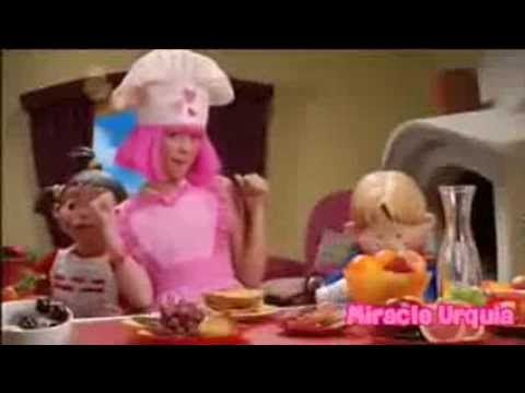 lazy town season 3 breakfast at stephanie (12 episode) - YouTube
