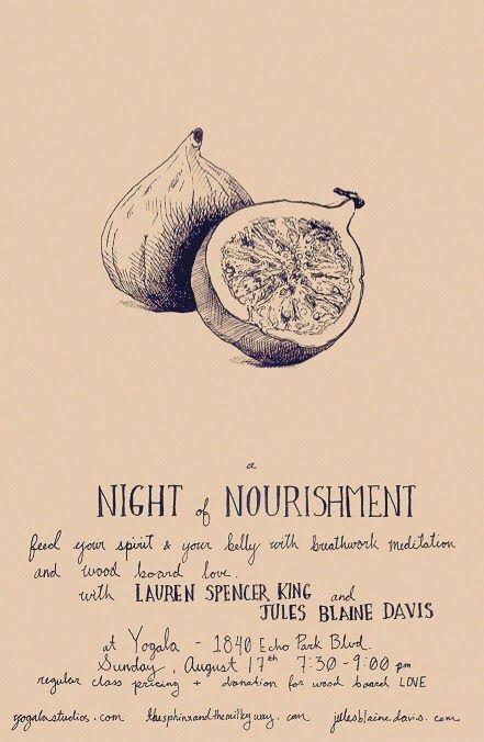 night of nourishment