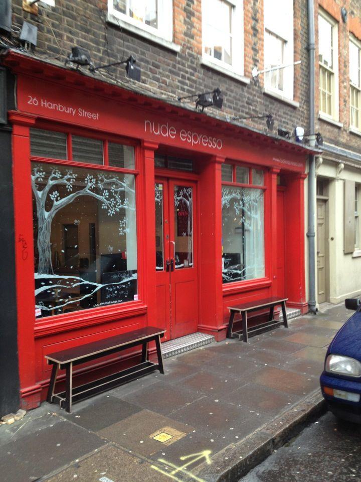 Nude Espresso in Shoreditch, Greater London