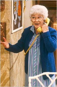17 best images about estelle getty 1923 2008 on for Why did bea arthur leave golden girls