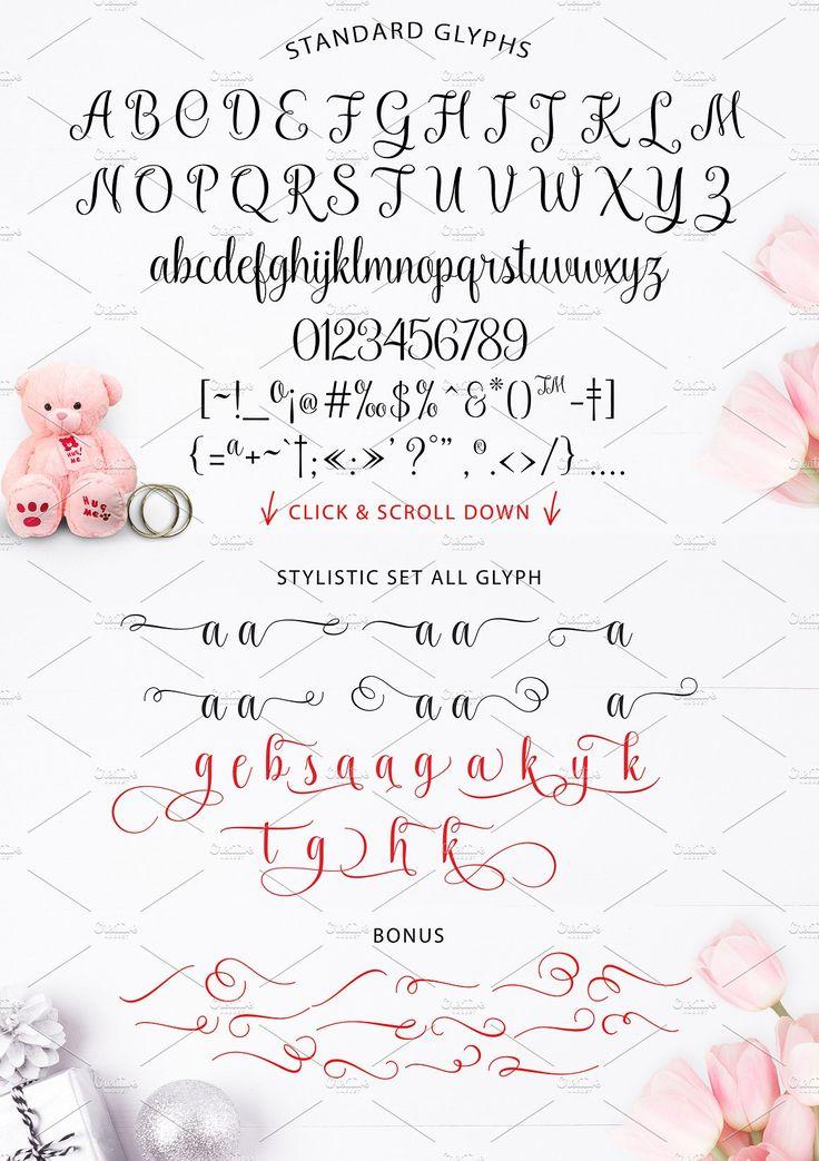 Kaiyila Script + Sans by Barland on @creativemarket