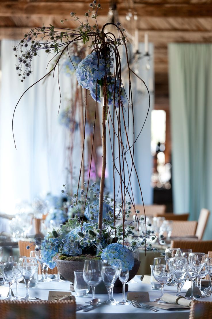 Seaside wedding centerpiece by artsize.pl