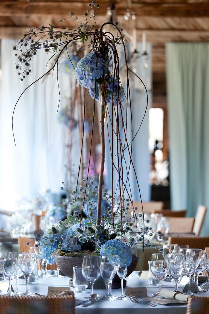 Seaside wedding centerpiece by artsize.pl