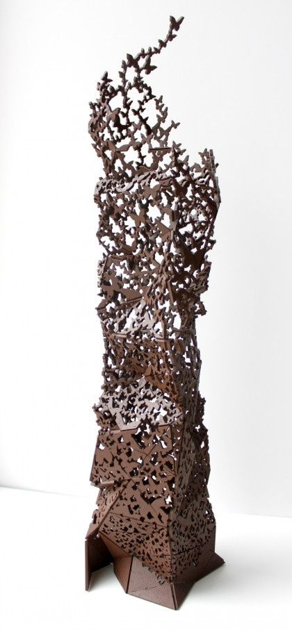 chocolate sculpture...consider this gone and then I'll go to my board on Shape Up...LOL