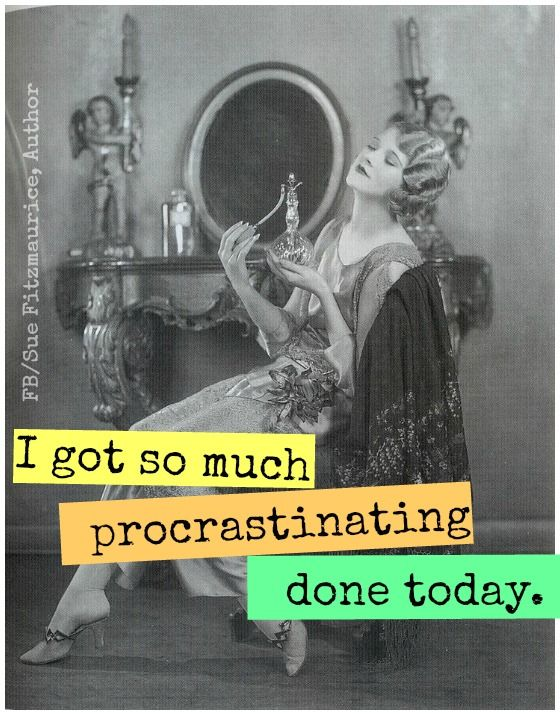 I have procrastinated BIG TIME! What do I do?