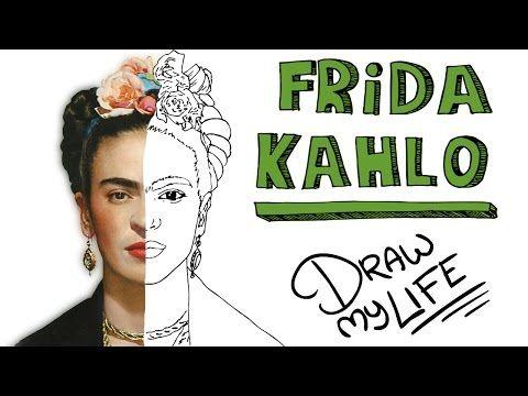 FRIDA KAHLO | Draw My Life En Español - YouTube