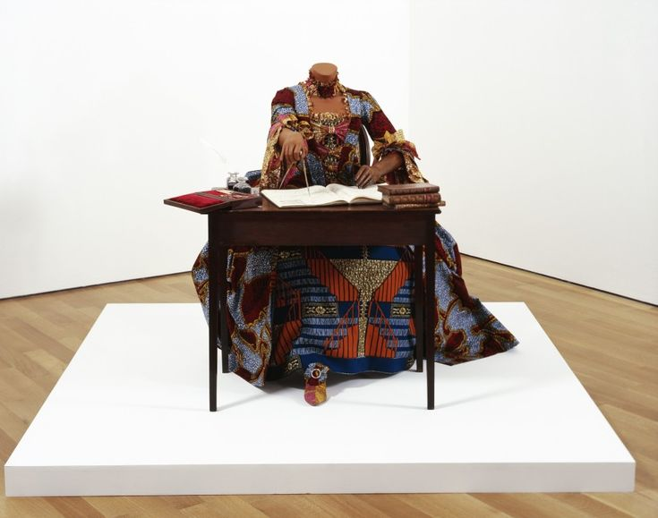 An example of Accultration by Yinka Shonibare