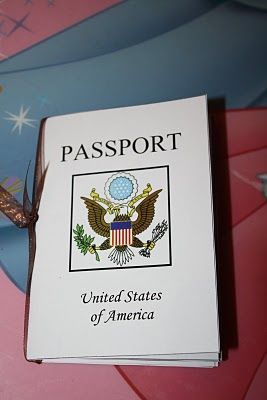 US Passport for units of study -- I want to adapt this for SC regions!  (Along with the postcard idea...)