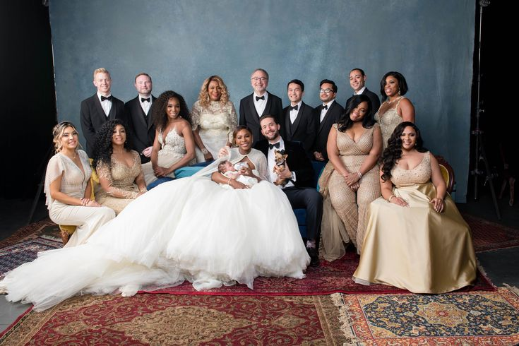 Family Pic! - Inside Serena Williams's Fairy-Tale Wedding in New Orleans |  Vogue