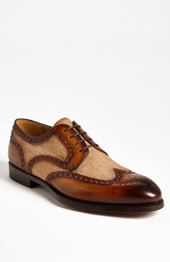 Magnanni Artea Spectator Shoe available at #Nordstrom